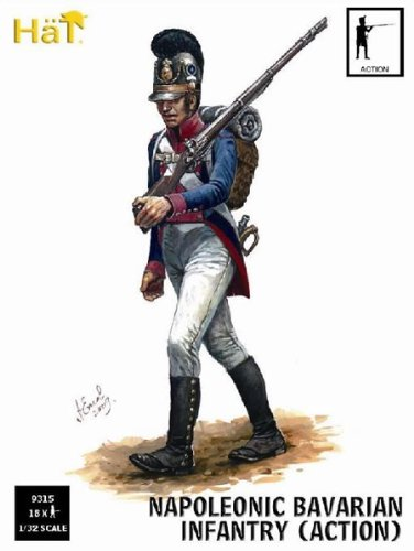 Hat Figures 1:32 - Bavarian Infantry - Action - HAT9315