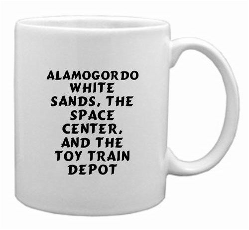 Alamogordo: White Sands, The Space Center, And The Toy Train Depot Mug