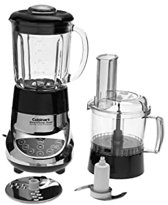 Cuisinart BFP-703CH SmartPower Duet Blender and Food Processor, Chrome