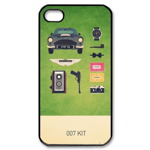 007 James Bond Classic Cool Movie Custom Hard Plastic Back Case Cover for iPhone 4 4s at Amazon.com