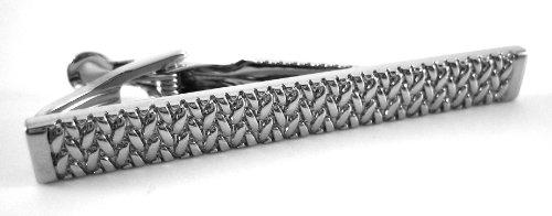 Chaps Ralph Lauren Textured Tie Bar Clip