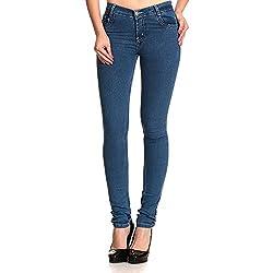 ahhaaaa's Women Slim fit Denim jeans