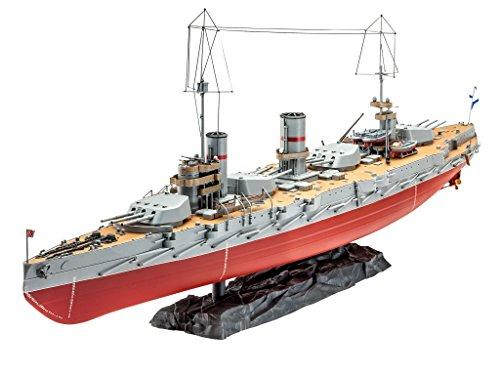 Revell-05137-Modellbausatz-Russian-Battleship-Gangut-WW-I-im-Mastab-1350