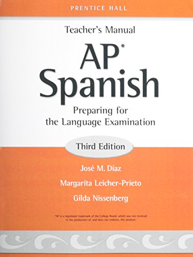 AP SPANISH-TEACHER'S MANUAL