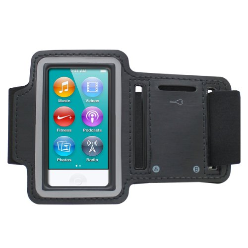 Cbus Wireless Running Jogging Sports GYM Armband Cover Case Holder for Apple iPod Nano 7 / 7G / 7th Generation sports gym neoprene armband case for ipod nano 7 antique silver black