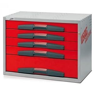 Usag 5000 de5 cassettiera con cassetti medi per for Allestimento furgoni fai da te