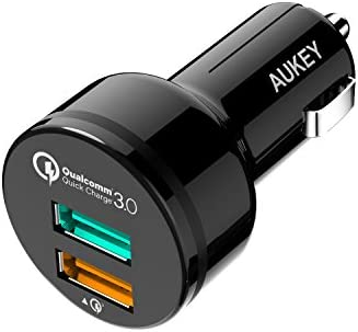 Aukey CC-T7 Dual-Port QC3.0 Car Charger