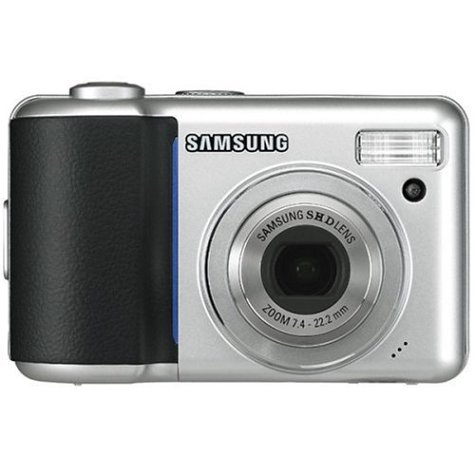 41X3ZDCD7DL Samsung Digimax L60 6.0MP Digital Camera with 3x Optical Zoom (Silver)