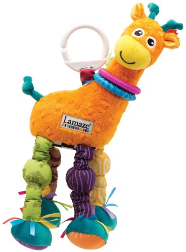 Tomy Lamaze Play And Grow Toy Giraffe, Colors May Vary back-1040568