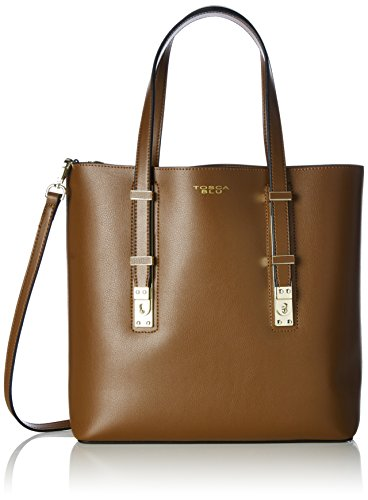 Tosca BluGOLDEN TEA - Borsa shopper Donna , Marrone (Braun (TAN C59)), 30x30x12 cm (B x H x T)