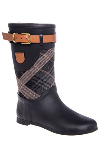 Weston Mid Plaid Rain Boot