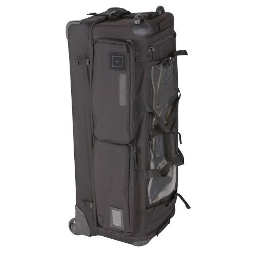 5.11 Tactical Cams 2.0 Rolling Duffel Bag, Black