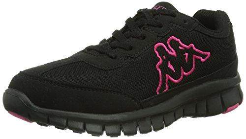 Kappa - Sylvester Ii Footwear Unisex, Sneakers, unisex, nero (1122 black/pink), 38