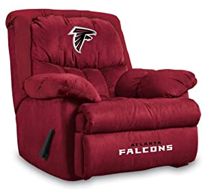 NFL Atlanta Falcons Home Team Microfiber Recliner by Imperial