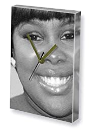 AMBER RILEY - Canvas Clock (LARGE A3 - Signed by the Artist) #js001