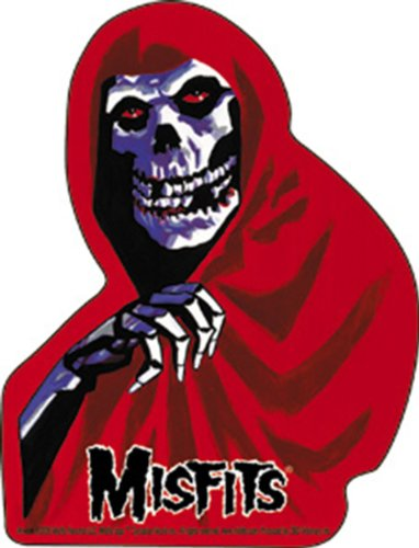 Licenses Products Misfits Red Fiend Sticker