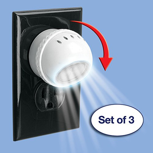 Led Night Light With Sensors Set Of 3