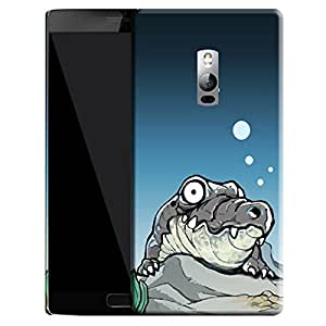 Theskinmantra Croc stare back cover for OnePlus 2