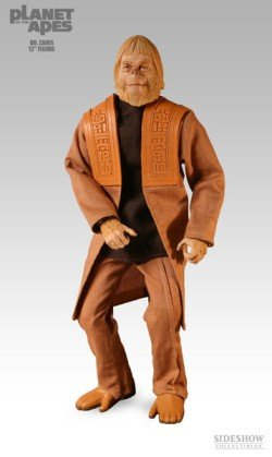 Picture of Sideshow PLANET OF THE APES - DR. ZAIUS 12 INCH FIGURE (B000A1LFE4) (Sideshow Action Figures)
