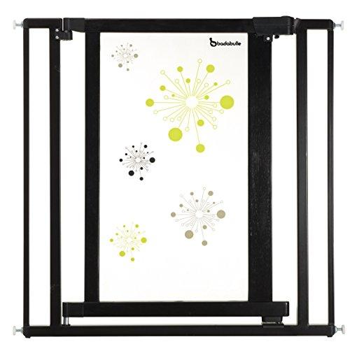 Badabulle B025001 Galaxie Barriera, Nero/Verde Anice