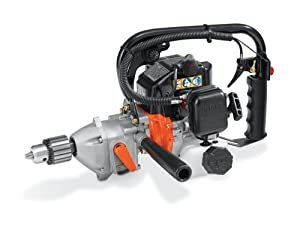 Tanaka Commercial Grade Gas Powered Gas Drill 26cc 1.3 HP 2-Stroke with Reversing Lever (CARB Compliant) TED-262R (Discontinued by Manufacturer)