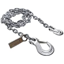 Mazzella SGS Mechanical Alloy Chain Sling, Fixed-Leg, Grade 100, Vertical Load Capacity