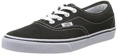 Vans Lpe Canvas, Unisex-Adults' Trainers, Black/White, 2.5 UK