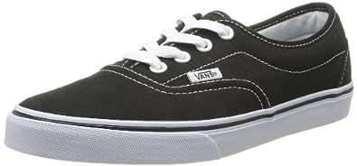 Vans U Lpe, Baskets mode mixte adulte - Noir (Black/White), 34.5 EU