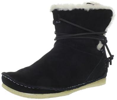 6796059d8da6 大降)Clarks Women s Faraway Plateau Boot其乐大漠雪地靴深