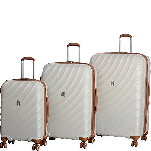 IT Luggage Duraliton Zeus 3 Piece Set, Limestone, One Size