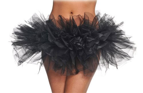 Black Adult Costume Tutu