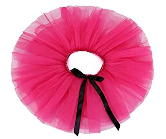 Liliany Rose Pink Girls' Ballet Fairy Tutu Skirt Petticoat