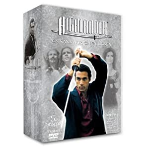 Highlander Complete Series 5 Box set