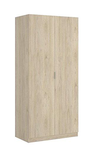 LIQUIDATODO ® - Armario de 2 puertas moderno y barato de 80cm