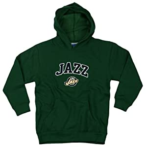 Utah Jazz NBA Basketball Youth Hoodie, Hooded Sweatshirt, Green
