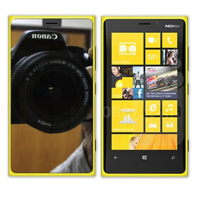 Coveron® Mirror Transparent Lcd Screen Protector Shield For Nokia 920 Lumia [Wcg561]