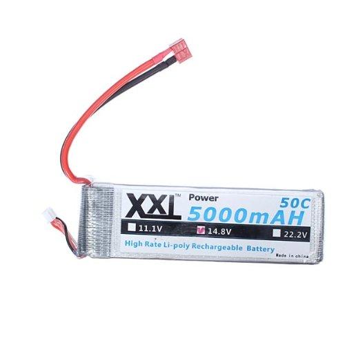 Xxl Power 14.8V 5000Mah 50C High Capacity Lipo Battery Bg818