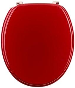 Mebasa MYBWCSRE Abattant WC rouge de myBath