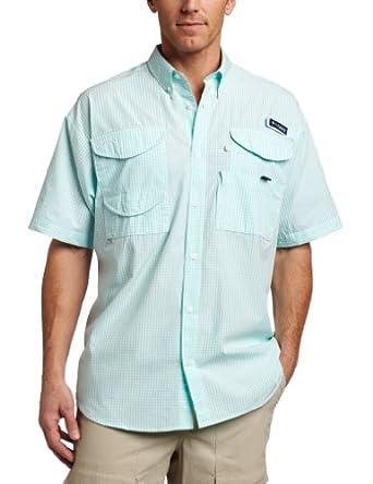 Columbia Mens Super Bonehead Classic Short Sleeve Shirt by Columbia