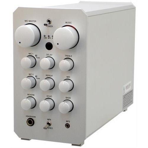 VOCOPRO CASAMAN Professional Digital Karaoke Mixing Amplifier