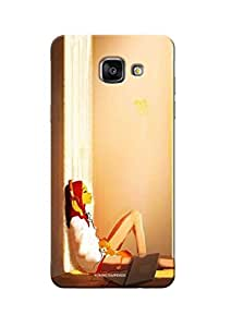 Sowing Happiness printed Back Cover for Samsung A7 2016