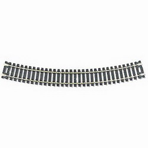 "Code 100 Nickel Silver 18"" Radius Snap Track (100) HO Scale Atlas Trains"