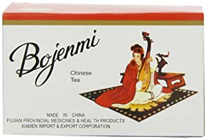 Bojenmi Chinese Diet Tea to Support Weight Control - 1.76 oz X 20 Bags Per Box