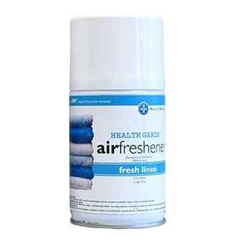 Hospeco Health Gards 07918 Fresh Linen Metered Aerosol Air Freshener, 7 oz Can (Case of 12)