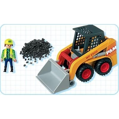 Port 4477: Mini Excavator - Playmobil