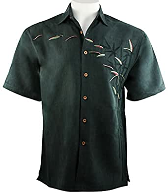 Bamboo cay bamboos on the loose tropical style for Bamboo button down shirts