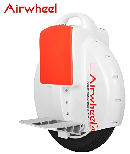 Airwheel Electric Unicycle Scooter X3-130-B W-Black