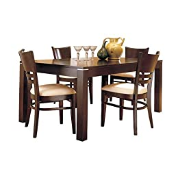 Target - Adney Dining Table with 4 Chairs - Espresso - $679.99