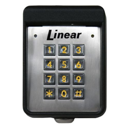 Linear AK-11  AcessKey Single Door Controller Universal Digital Keyless Entry System  For Gate or Door Acess Control