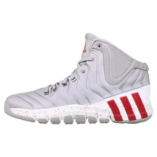the best attitude 061d2 25191 Adidas Mens Adipure Crazyquick 2 Damian Lillard-GREY LGTSCA WHITE SILVER